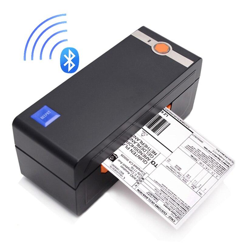 Thermische Barcode Label Drucker Bluetooth USB 4*6 Verschiffen Drucker Kompatibel eBay Amazon Shopify Thermische Aufkleber maschine