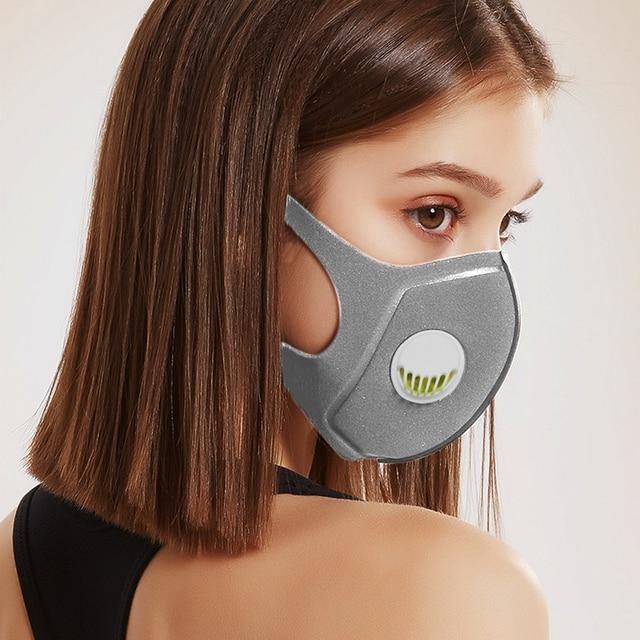 1Pcs BYEPAIN Respiratory Dust Mask Upgraded Version Men & Women Haze Dust Pm2.5 Pollen 3D Cropped Breathable Valve Mask 1