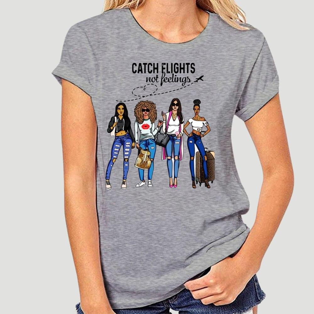 Поймать Перелёты нет чувства T Shirt-0944A