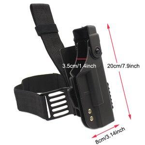 Image 5 - Glock 용 전술 총 홀스터 17 19 22 23 26 31 Airsoft 권총 드롭 다리 홀스터 전투 허벅지 총 가방 케이스 사냥 액세서리