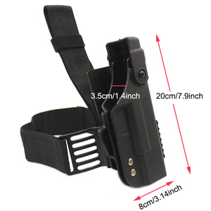 Image 5 - ยุทธวิธีปืน HOLSTER สำหรับ Glock 17 19 22 23 26 31 Airsoft Pistol ขา HOLSTER COMBAT ต้นขาปืนกรณีอุปกรณ์ล่าสัตว์