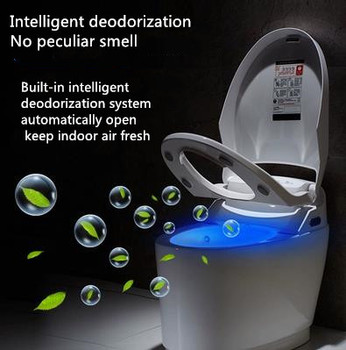 Fully automatic flushing, remote control and instant hot cleaning intelligent toilet without water tank in Tianjin, Japan