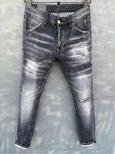 New Men's High Quality Fashion Classic All-match Denim Desingner Jeans Size 44--54 986