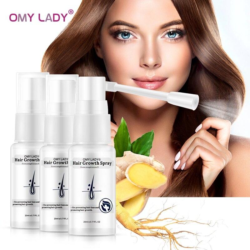 OMY LADY Hair Care Hair Growth Essential Oil Essence Original Authentic 100% Hair Loss Liquid BODY Care Beauty Dense Hair Growth 1