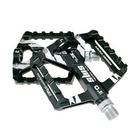 SMS Bicycle Pedals Aluminum Alloy Thread Sealed Bearings MTB Pedal Road Cycling Riding BIKE Pedals