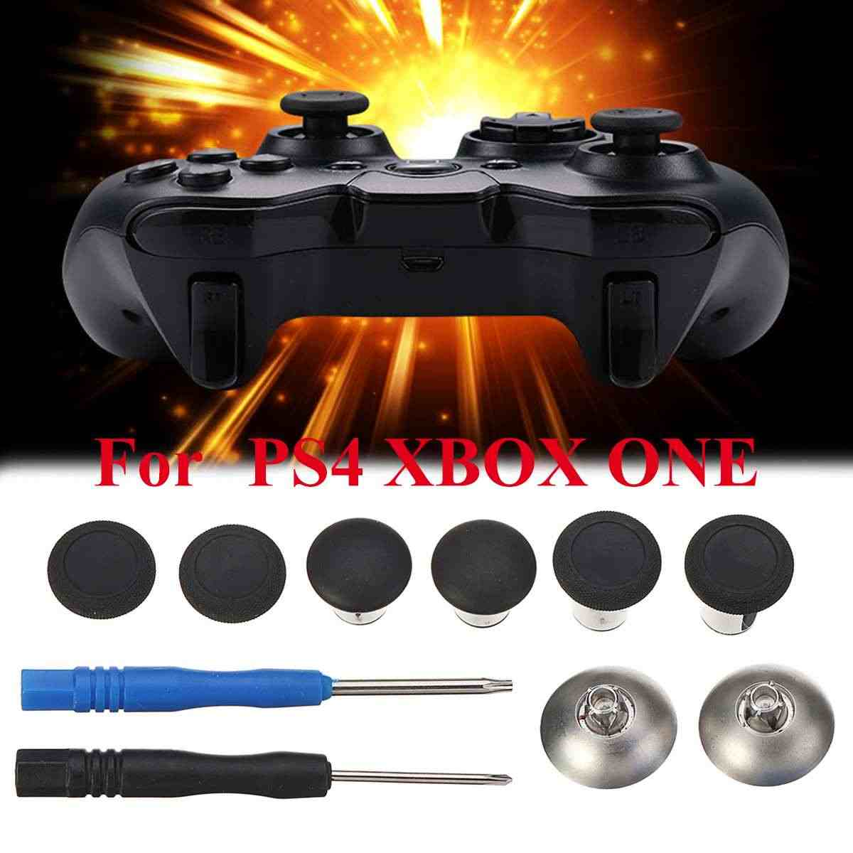 8 個ゲームボタン PS4 ため 3 高さロッカーキャップエリートハンドルアクセサリーハンドルボタン