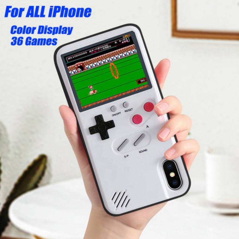 Gameboy Soft Phone Case Cover For iPhone