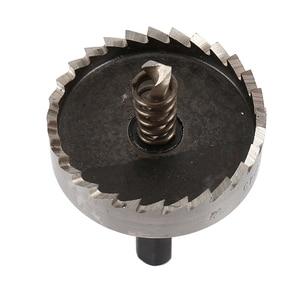 Image 5 - 13PCS HSS Bohrer Bit Set High Speed Stahl Hartmetall Spitze Loch Sah Zahn Cutter Metall Bohren Hand Holz Schneiden zimmerei Kronen