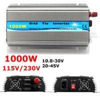 Grid Tie Inverter 1000W MPPT Micro 230V/115V Panel 36 Cells Function Pure Sine Wave Output On Grid Tie Inverter 11 50V DC