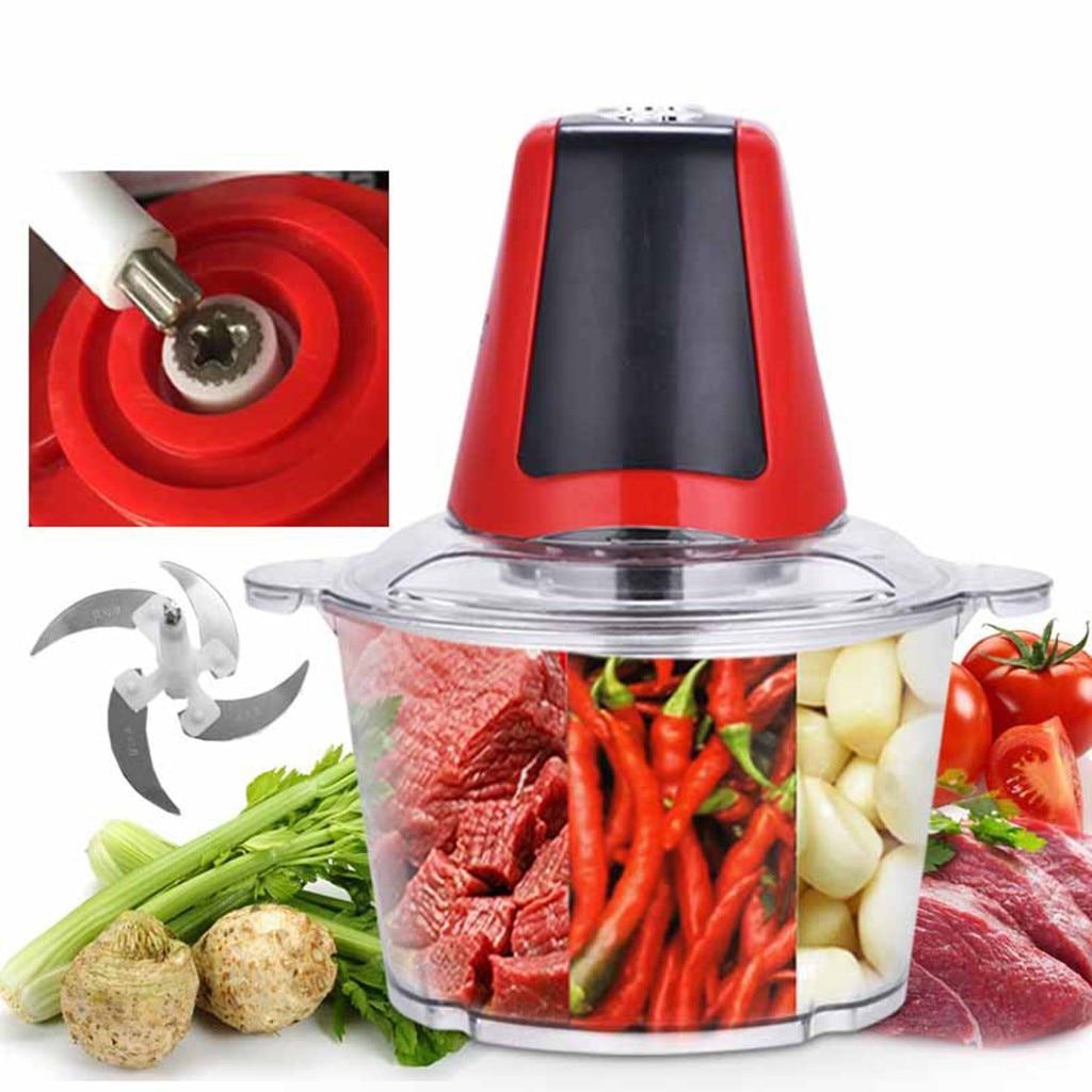 Broyeur à viande électrique multifonction | 2/3L broyeur à viande, broyeur d'aliments, outil de cuisine, viande, broyeur à légumes, Mach de cuisson multifonction #15