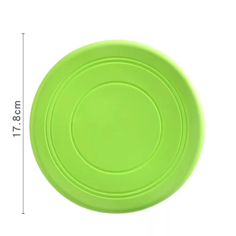 Colorful Toy For Puppy Dog Saucer Games Dogs Toys Large Pet Training Flying Disk Accessories French Bulldog Pitbull Cheap Goods 13
