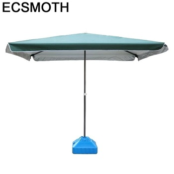 Ombrelloni Da Giardino Ogrodowy Moveis Mesa Y Silla Beach Parasol Garden Mueble De Jardin Outdoor Patio Furniture Umbrella Set