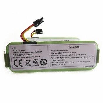 Batería de 14,4 V, 3500mAh para Panda X500 X580 X600, Robot aspirador, batería Ecovacs Mirror CR120, baterías recargables Dibea X500