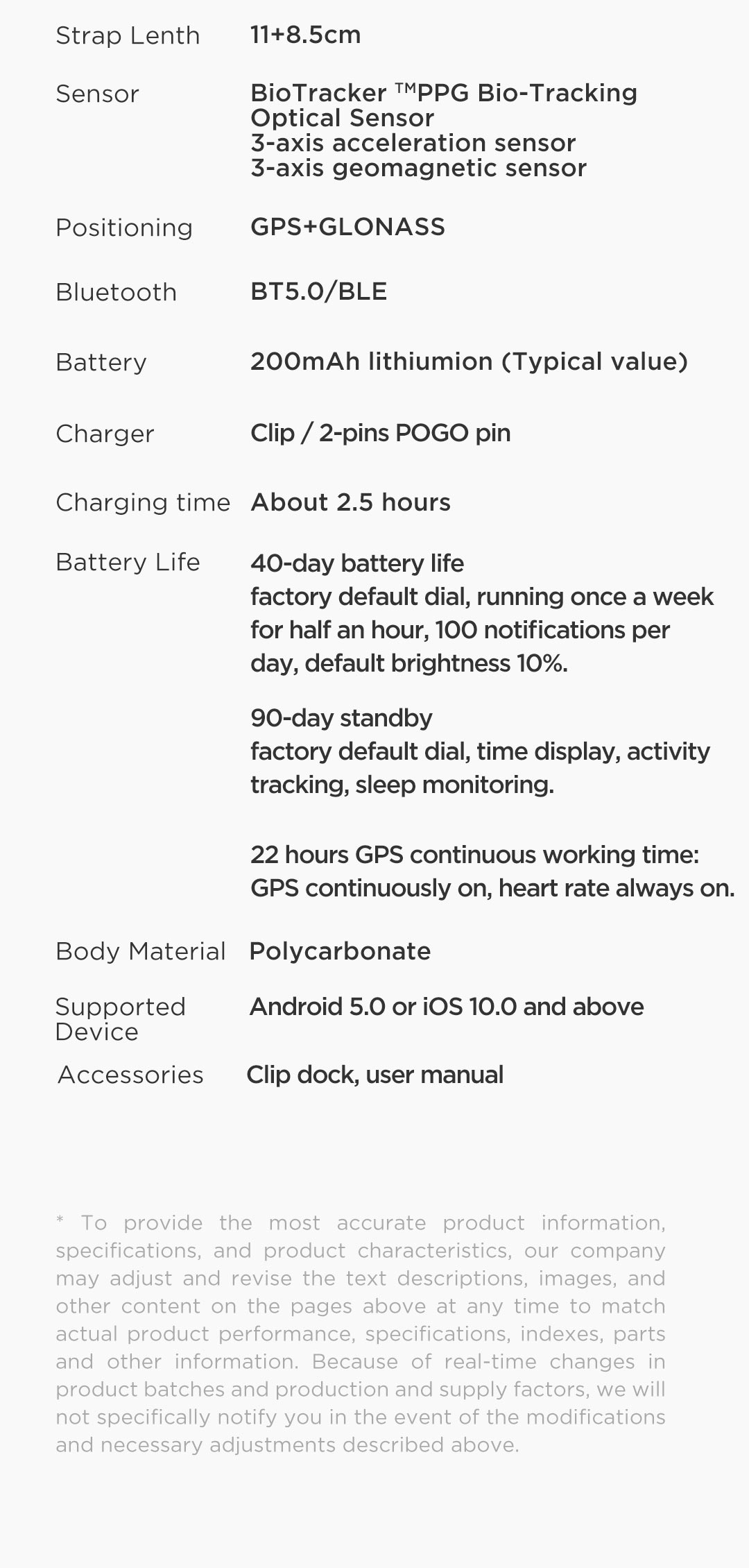 Hd6c8ec979cf54d4995389b89bea69f3ct In Stock 2020 Global Amazfit Bip S Smartwatch 5ATM waterproof built in GPS GLONASS Smart Watch for Android iOS Phone