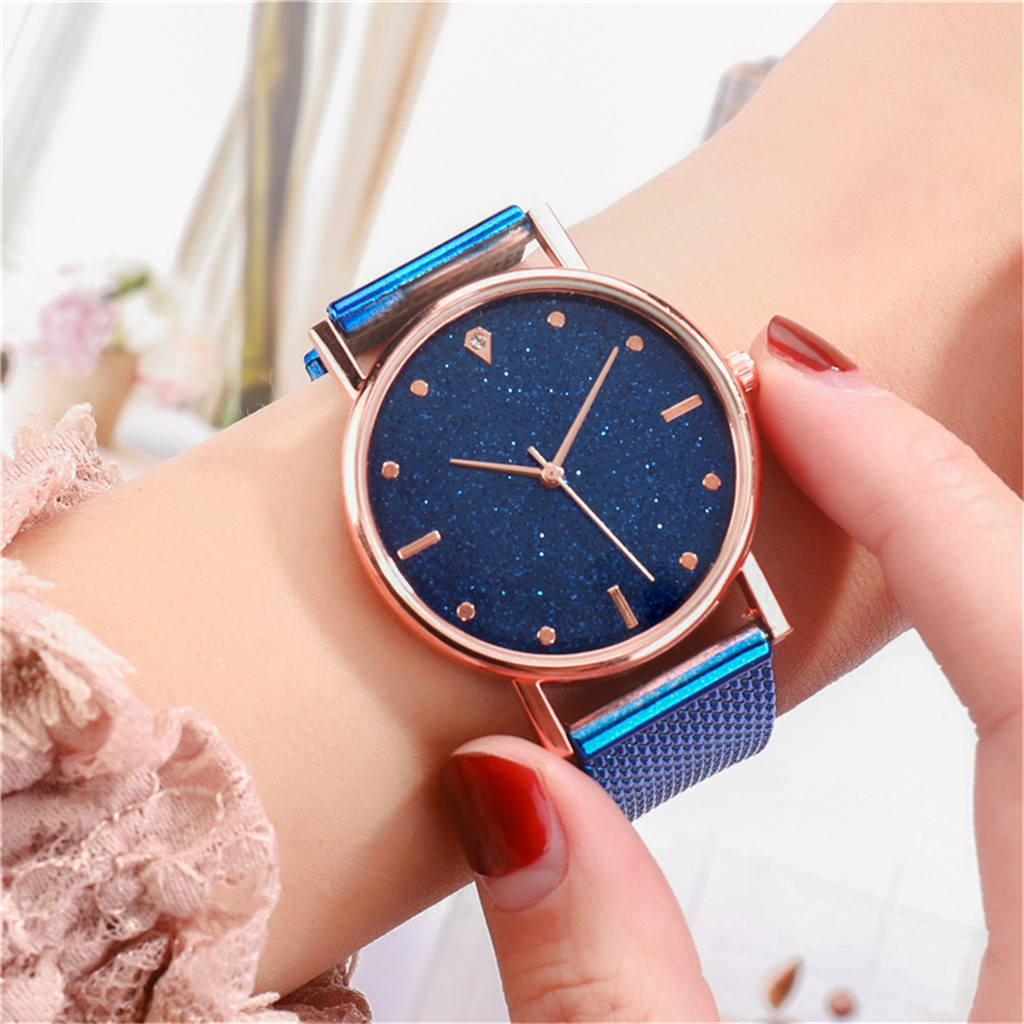 Fast delivery Fashion Business Women Watch Luxury Watches Quartz Watch Stainless Steel Dial Casual Bracele Watch Female new