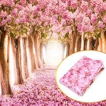 Fond de fleur Sakura, arrière-plan pour photographie de bébé, studio photo