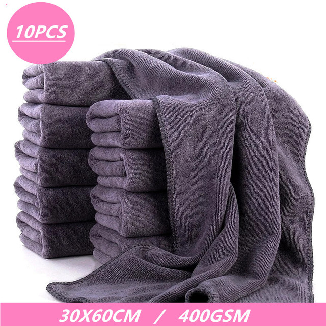 400GSM Super Soft Car Wash Microfiber Towel Auto Cleaning Drying Cloth Car Care Cloth Detailing Washing Towel Car Accessories