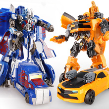 New Cool Transformers Anime Transformation Toys Robot Cars ABS Super Hero Action Figures Model 3C Plastic Children Kids Toy Gift