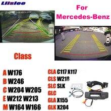 Mise à niveau originale de moniteur de sauvegarde dinterface de caméra de recul pour Mercedes Benz MB A B C E M CLA CLS SLC SLK GLC GLA GLK NTG système