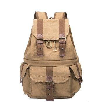Shoulder outdoor travel bag SLR camera casual photography canvas bag digital backpack