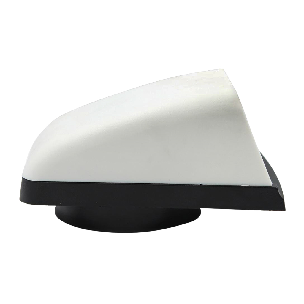 3 Inch Air Cowl Vents Cover Boat Marine Airflow Vent Replacement Part For Yachts Boat Vent Box RV Caravan Plastic White Black