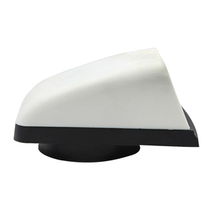 3 inch Air Cowl Vents Cover Boat Marine Airflow Vent Replacement Part for Yachts Boat Vent Box RV Caravan Plastic White Black(China)