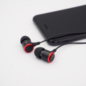Image 3 - หูฟังแบบมีสาย3.5มม.หูฟังโลหะHIFIชุดหูฟังสเตอริโอกีฬาหูฟังพร้อมไมโครโฟนสำหรับXiaomi Samsung Huawei iphone 12