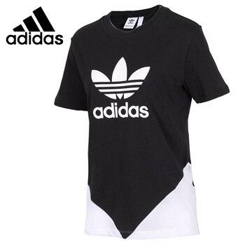 Original New Arrival  Adidas Originals CLDRO TREFOIL Women's T-shirts short sleeve Sportswear 1