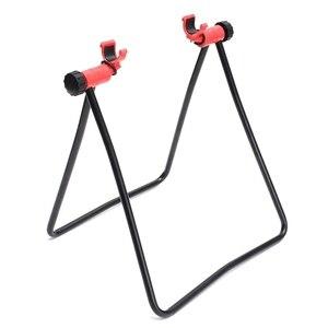 Подставка для горного велосипеда, шоссейного велосипеда, треугольная вертикальная стойка, дисплей для ступицы колеса, подставка для ремонт...