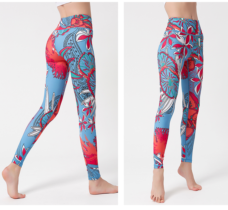 Calças de ioga