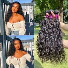 Curly Hair Peruvian Virgins Hair Natural Wave 100% Human Hair Weaving Black Women Natural Hair Extensions Wholesale Hair Bundles