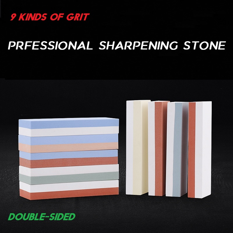 2-in-1 240 600 1000 3000 Grit Knife Sharpener <font><b>Whetstone</b></font> Sharpening Stones Grinding Stone System Water Stone Honing Kitchen Tool image