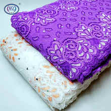 HL 1 Yard 18CM Wide Lace DIY Clothing Spandex  Panel  Underwear Wedding Dress Crafts Sewing Accessories HB002
