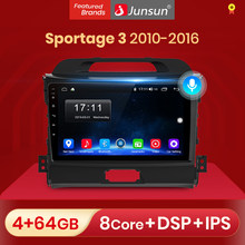 Junsun 4G + 64G Android 10 Für Kia Sportage 3 2010 2011 2012 2013 - 2015 2016 Auto 2 din Auto Radio Stereo-Player Bluetooth GPS dvd
