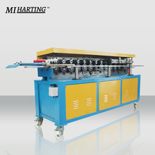 Model T-12 TDF Flange Forming Making Machine Sheet Metal Steel Roll Former For Air Duct Manufacture