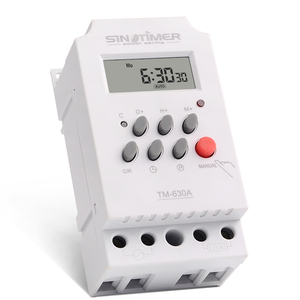 Image 2 - 30amp 220V AC MINI Digital TIMER SWITCH 7 Days Programmable Time Relay FREE SHIPPING
