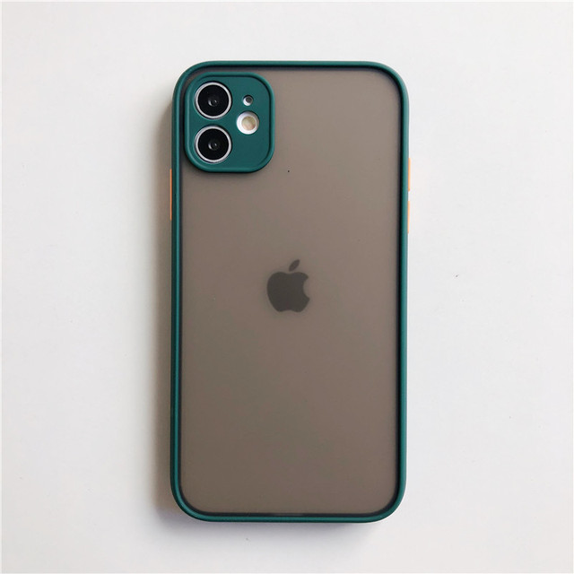 Camera Lens Protection Phone Case on For iPhone 11 Pro Max 6 6S 7 8 Plus XR XSMax X XS SE 2020 Candy Color Soft Back Cover Gift 4