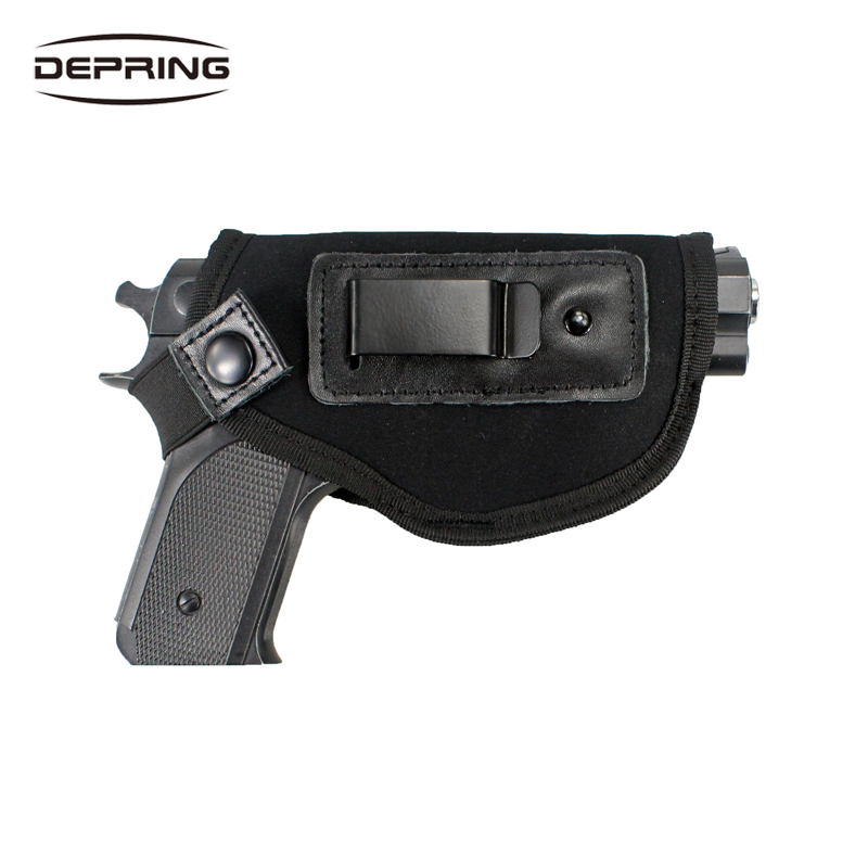 Super Comfortable Neoprene Concealed Carry IWB Gun Holster Fits Subcompact And Compact Handguns For Right Hand Draw