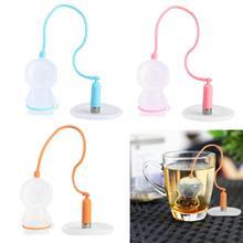Tea-Strainer Tea Infuser Silicone Drinkware Teapot SPICE-FILTER Kitchen-Accessories Mesh