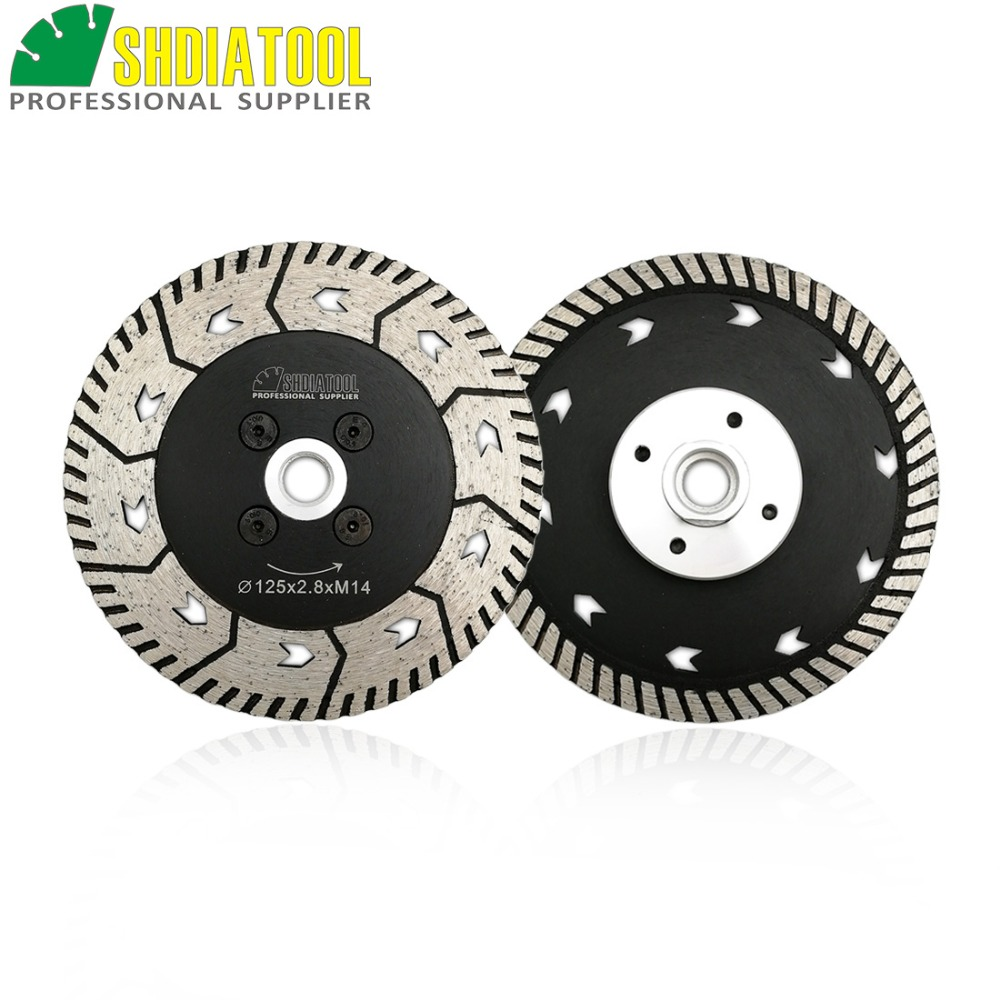 Diamond Cutting Grinding Disc Dual Saw Blade Cut Grind Sharpen Granite Marble blades |115mm or 125mm | 1pc