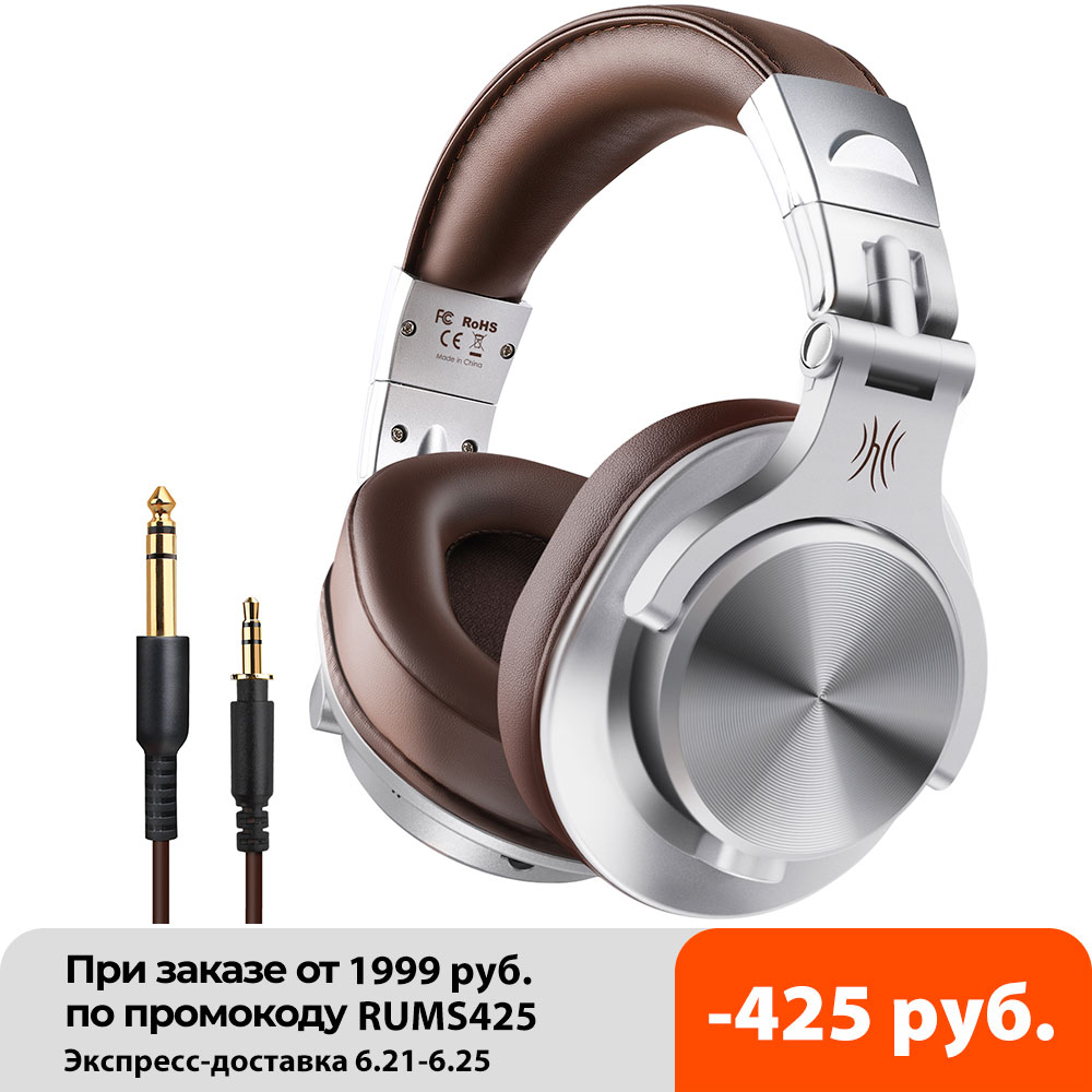 OneOdio A70 Fusion Bluetooth 5.0 Headphones Studio Recording  Wired/Wireless Headphones with Share-Port Professional Monitor