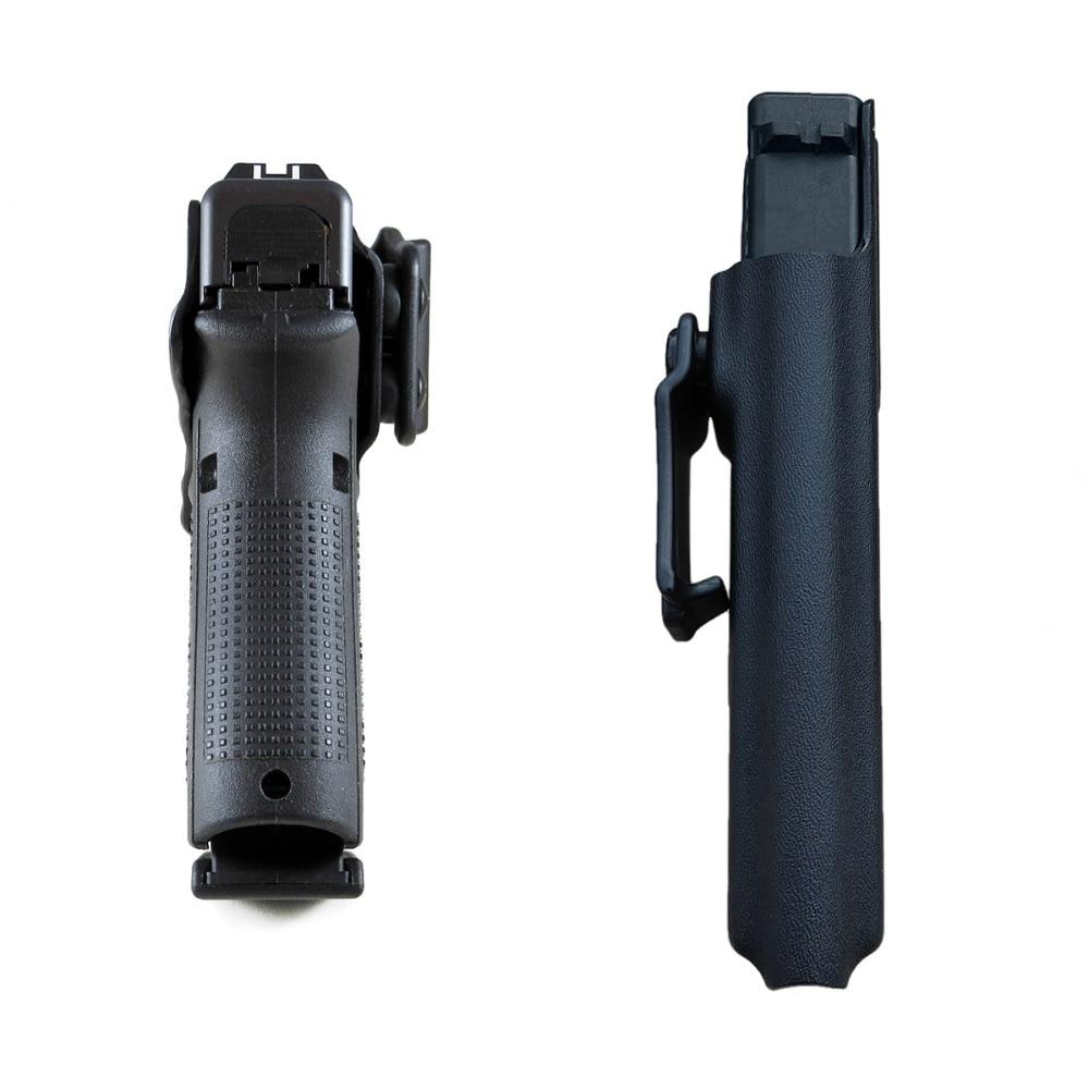 Glock 19 KYDEX  Gun Holster Black-5 拷贝