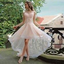Платье sevintage женское кружевное выше колена элегантное Тюлевое
