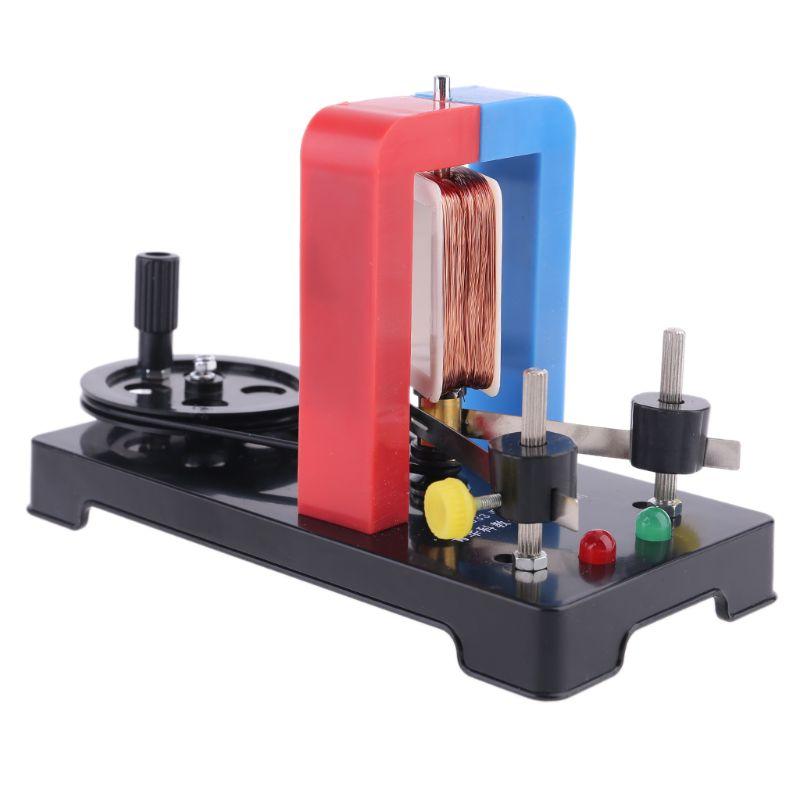 Купить diy ручной генератор электроэнергии модель генератора faraday