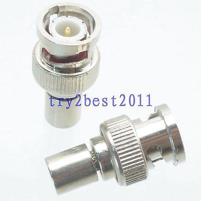 DHL/EMS 100 Pcs Termination DUMMY Loads BNC Plug Pin 1/2W DC 0-2GHZ 75ohm RF Coaxial -C1