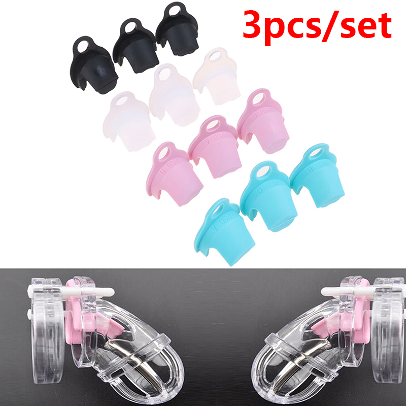 3Pcs/set Spacer Cock Cage Lock Ring Spacer Chastity Device Spacer Accessories For CB3000,CB6000,CB6000S Chastity Device
