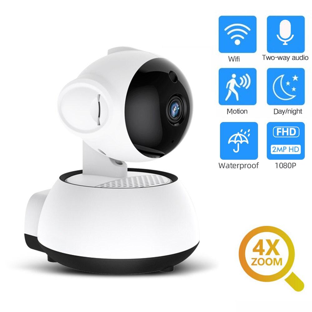 FEISDA 1080P 720P Home Security IP Cameras Two Way Audio Wireless Mini Wifi Camera Night Vision CCTV Camera Baby Monitor