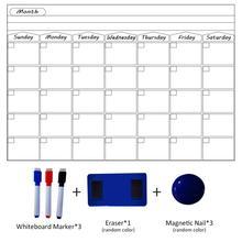 magnetic weekly planner calendar…