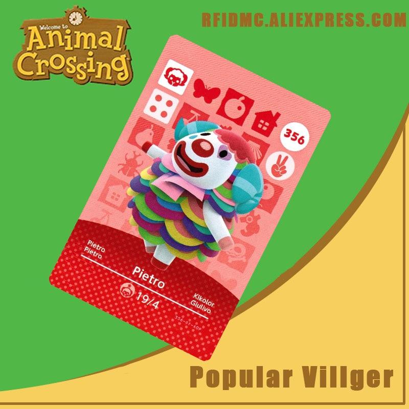 356 Pietro Animal Crossing Card Amiibo For New Horizons