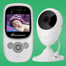 ViewEye Professional Wireless Camera Baby Monitor Night Vision Two-way Sleep Monitor 2.4 inch LCD Display Temperature Detection(China)